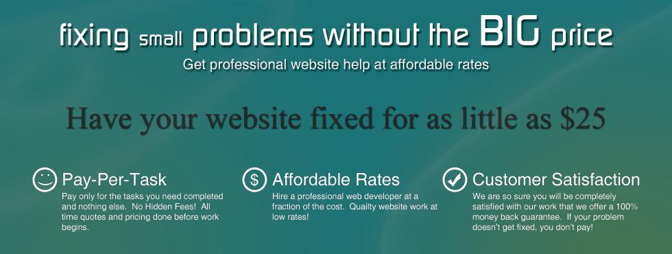 website-help
